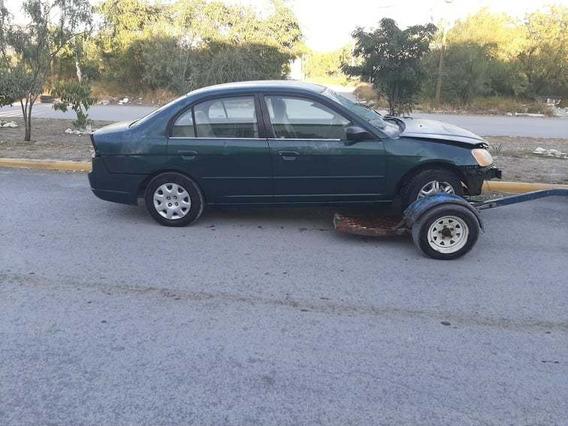 Honda Civic Lx 2002 Yonke Por Partes Para Desarmar