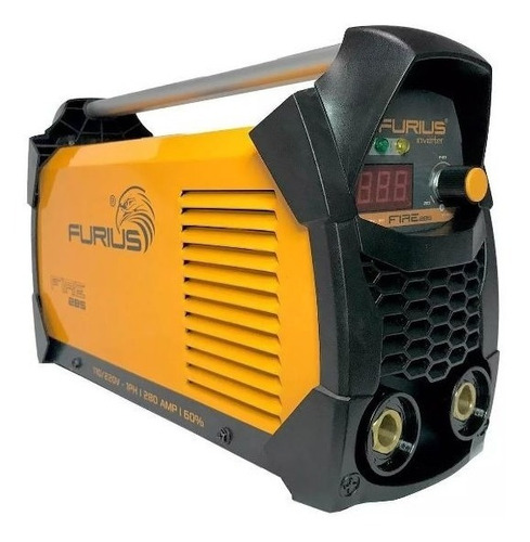 Soldadora Inversora 110-220v Furius Fire 285