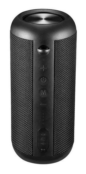 Caixa De Som Mega Tws Hands-free Bluetooth 30w Rms Preta