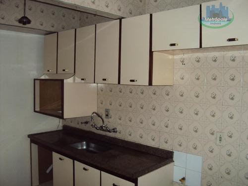 Apartamento Com 1 Dormitório Para Alugar, 60 M² Por R$ 1.100,00/mês - Parque Cecap - Guarulhos/sp - Ap0275