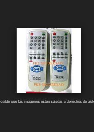 Control Tv Silver Rivera