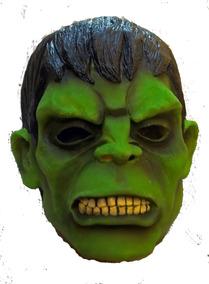 Mascara Artesanal Hulk - Latex Super Luxo Original
