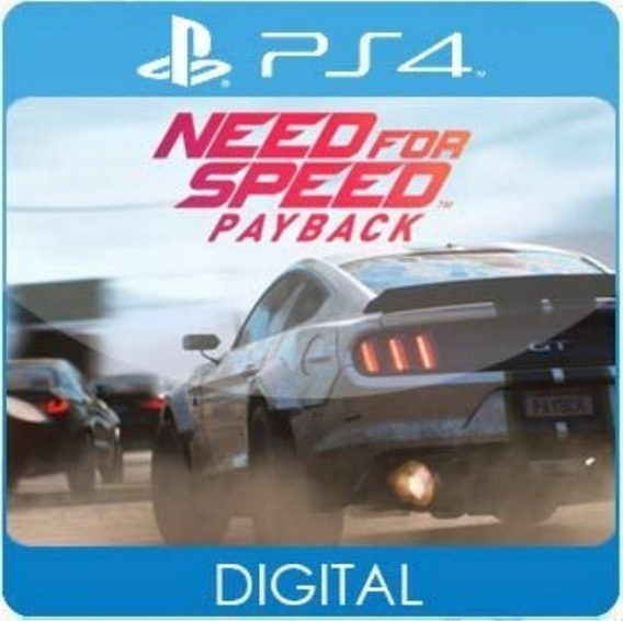 Need For Speed Payback / Ps4 / 1 / Envio Hoje