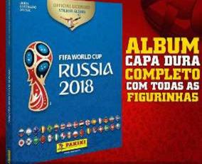 Album Da Copa 2018 Capa Dura