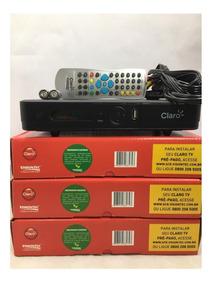 Dez Receptores Claro Tv Pre Pago Visiontec C/ Frete Grátis