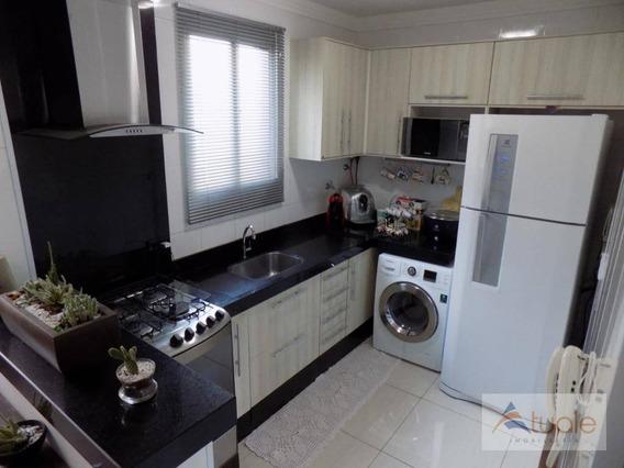 Apartamento Com 2 Dormitórios À Venda, 47 M² Por R$ 180.000,00 - Loteamento Industrial Machadinho - Americana/sp - Ap6813