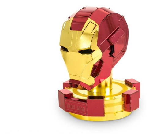 Fascinations Casco De Iron Man: Modelo Metálico Para Armar