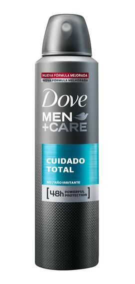 Antitranspirante Aerosol Dove Men Care Cuidado Total 150ml