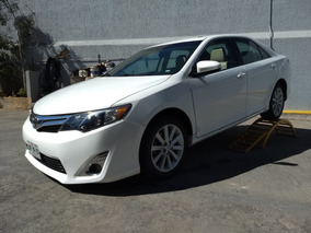 Toyota Camry 2013 2.5 Xle L4 Aa Ee Qc Piel Nave. At