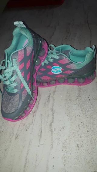 Zapatos Marca Skechers 100% Originales U.s.a. Talla 32