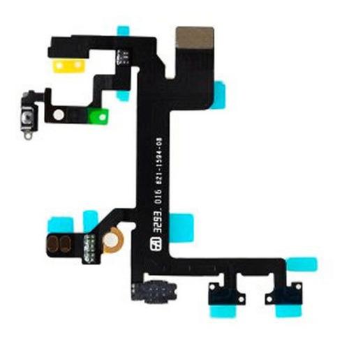 Imagen 1 de 1 de Cable Flex Botones Encendido Y Volumen Silencio iPhone 5s