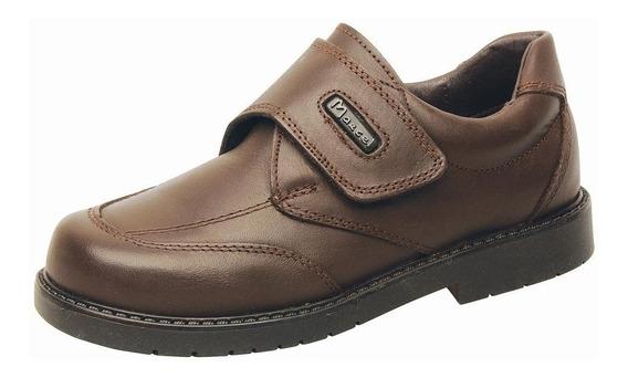 Zapatos Colegial Marcel Abrojo 34/41 Cuero Negro Ó Marrón