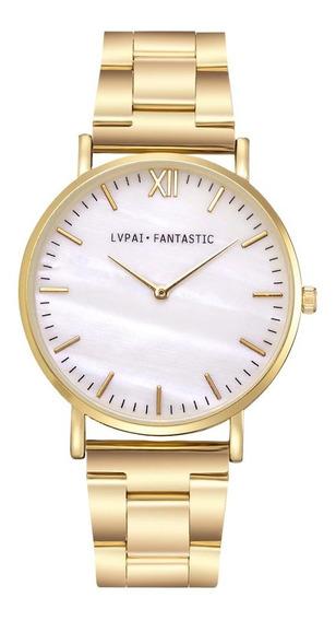 Relógio De Pulso Feminino De Luxo