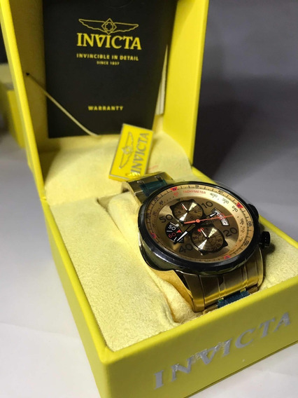 Relógio Invicta Aviator 17205 Original