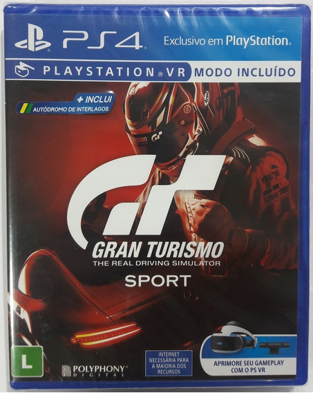 Gran Turismo Sport Ps4 Mídia Física.