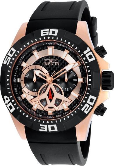 Relógio Invicta 21740 Aviator- Ouro Rosê - Original
