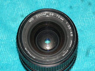 Remato Pa Refacciones Lente Minolta Zoom 28-70mm De 55mm