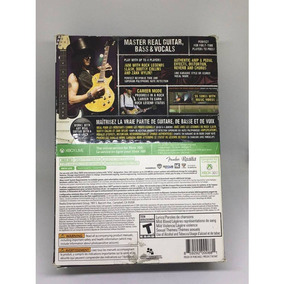 Box Bandfuse Rock Legends Para Xbox 360 Jogo + Cabo