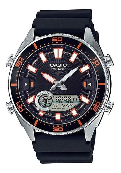 Relógio Casio Anos 90 Vintage Amw720-1av