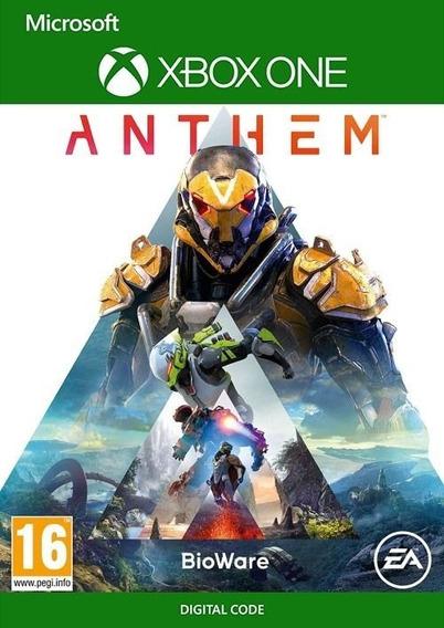 Anthem   Key 25 Dígitos   Xbox One