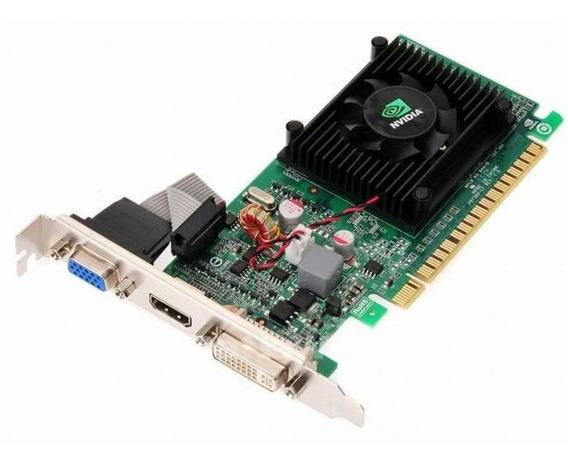 Placa De Vídeo Vga Nvidia Geforce Gt 210 1gb Ddr3