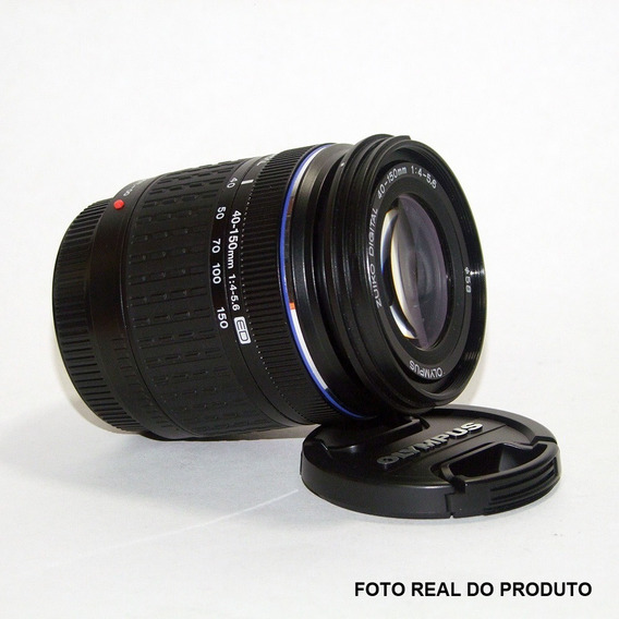 Lente Objetiva Olympus Zuiko Digital 40-150mm 1:4-5.6 C/ Cx.