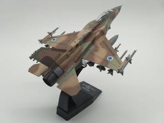 J Escala Modelo De Avión Israel 2015 F-16 Falcón (a Pedido)