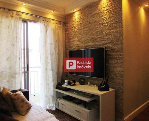 Apartamento À Venda, 50 M² Por R$ 335.000,00 - Vila Santa Catarina - São Paulo/sp - Ap18394