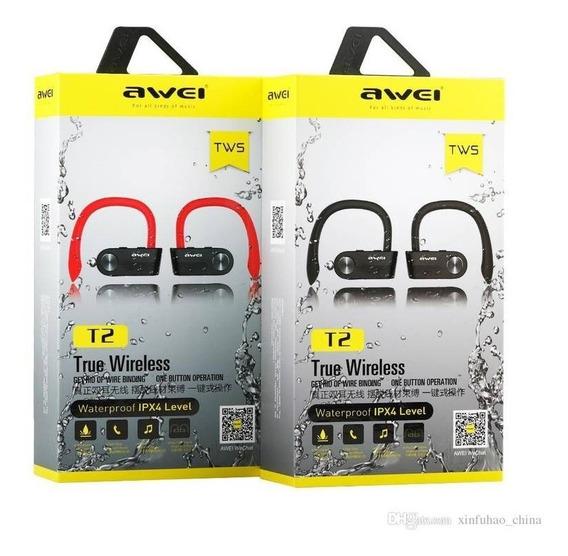 Fone De Ouvido True Wireless Bluetooth Awei T2
