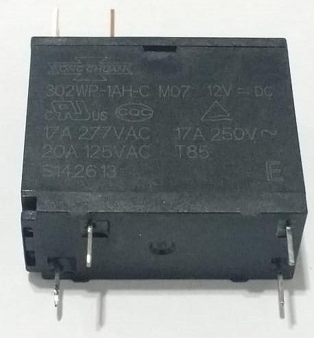 Relê 12 V , 17 A , Micro Ondas = 302wp-1ah-c Mo7