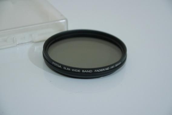 Filtro Fotga Slim Wide Band Fader Nd Variable 52mm No Estojo