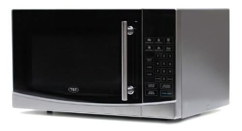 Horno Microondas Cocina Tst 30lt Acero Digital Display Led