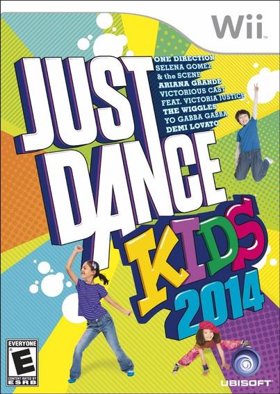 Just Dance Kids 2014 Wii Original Lacrado Novo