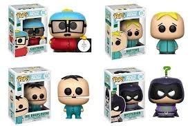 Funko Pop South Park Colección 4 Pzas