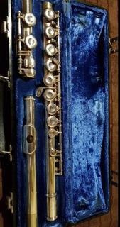 Flauta Traversa Marca Bundy Selmer Ii