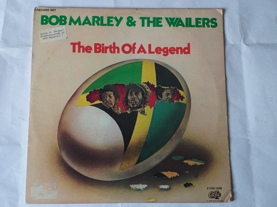 Lp Duplo Bob Marley Wailers The Birth Of A Legend Imp Excele
