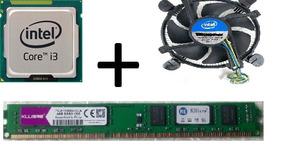 Processador Intel Core I3 3220 + Memoria 4gb + Cooler
