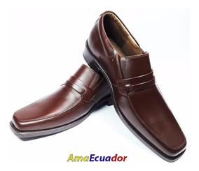 Zapatos De Vestir 100% Cuero De Hombre Casuales De Moda + Re