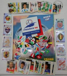Estampas Mundial Francia 98 Panini