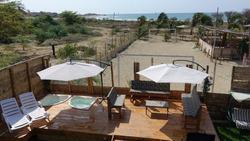 Linda Casa De Playa Frente Al Mar En Playa Lobitos- Piura