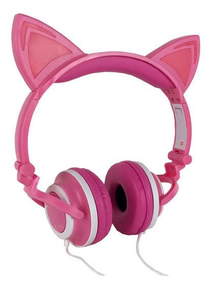 Fone De Ouvido De Gatinho Orelha De Gato Para Crianças