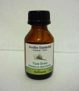 Aceite Esencial De Tea Tree Árbol De Té Natural-puro 15 Ml