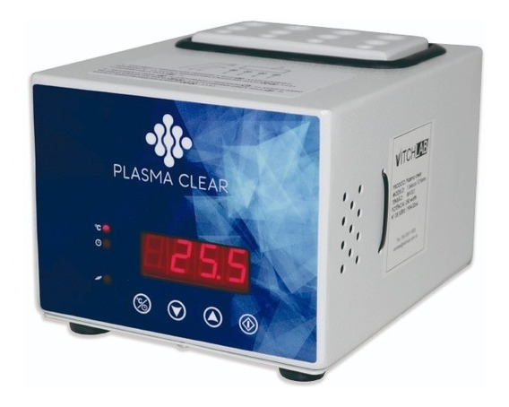 Aparelho Plasma Gel 1ml, 3ml E 5ml 0-100°c Plasma Clear