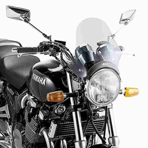 Parabrisas Universal Ahumado Moto Givi A200 29,5x34cm - Um