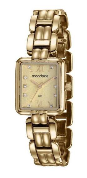Relógio Mondaine Feminino Ref: 83379lpmvdm1 Retangular