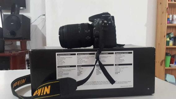 Cámara Nikon D7200 +18-140mm Vr Af +50mm 1.8f Af