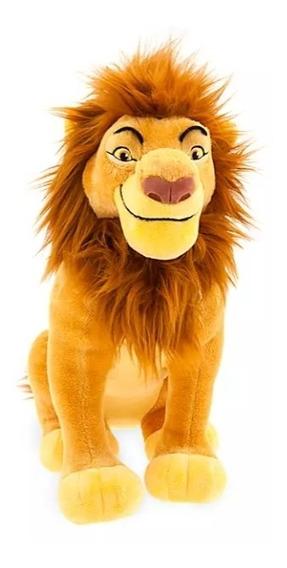 Pelúcia Rei Leão Mufasa Original Disney