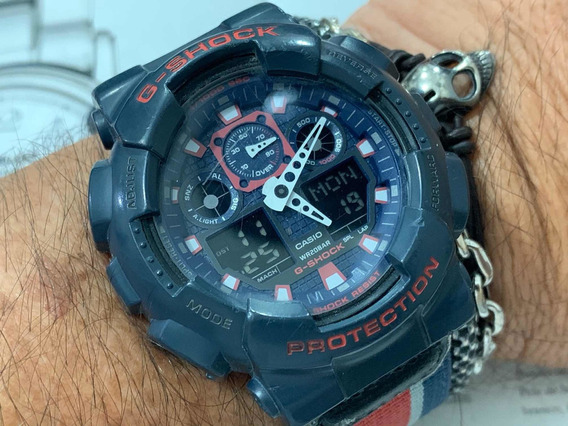 Casio G-shock Wr200m Ga100mc Protection