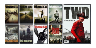The Walking Dead Paquete Temporada 1 2 3 4 5 6 7 8 9 Dvd