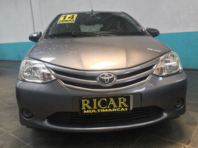 Toyota Etios 1.3 16v X 5p 2014 Para Trabalhar Uber